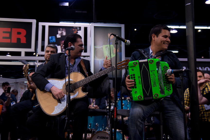 Los Tucanes De Tijuana Viven En El NAMM 2014